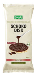 Schoko Disk with Semi Sweet Chocolate