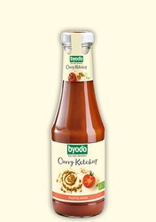 organic curry-ketchup, fruity, intensive curry flavour, Byodo Naturkost