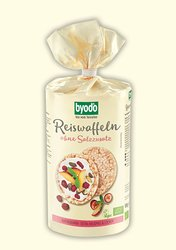 organic Rice Cakes without Salt, whole grain, Byodo Naturkost